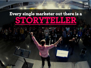Why marketing stagnated in 2004 (storytelling)