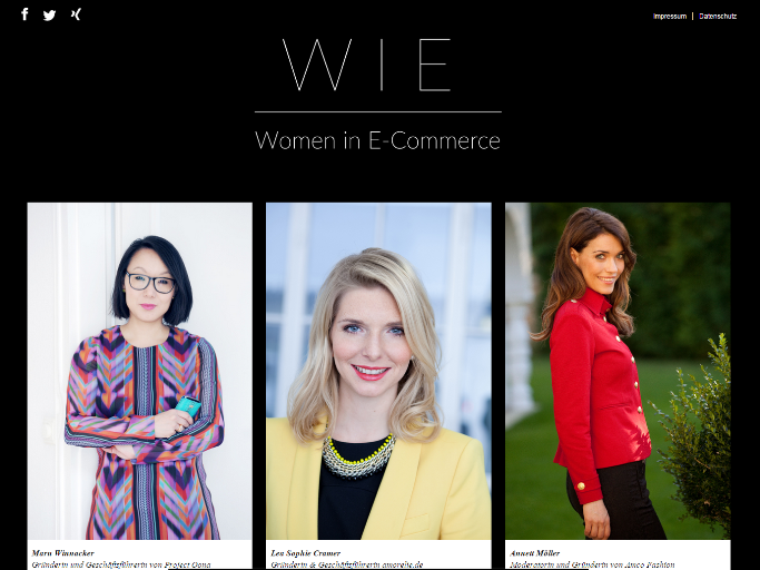 New Initiatives: What Are Women Doinging in E-Commerce?