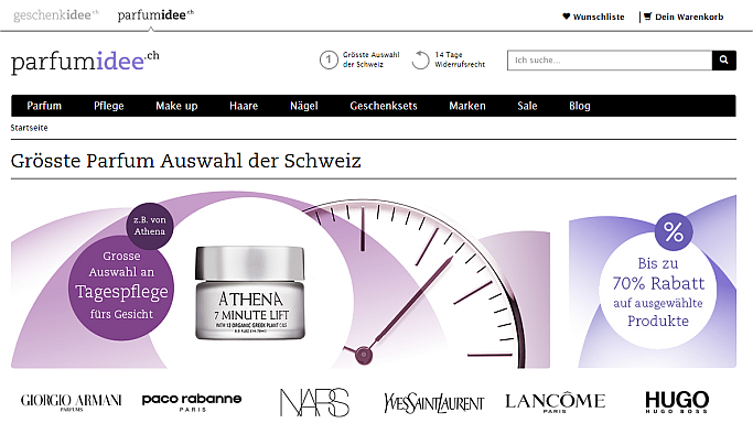 E-Commerce for all senses: dotSource realizes parfumidee.ch with Magento