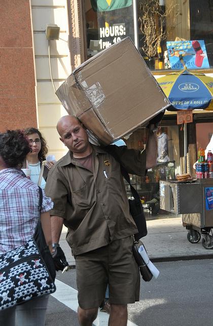 Returning a parcel