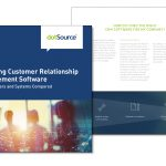"New white paper: ""Selecting Customer Relationship Software"" including the dotSource Vendor Matrix"