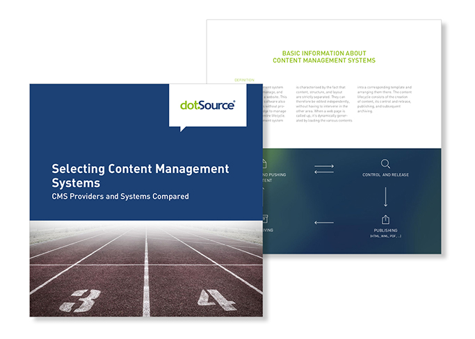 dotSource White Paper Selecting Content Management Systems, CMS Providers and Systems Compared