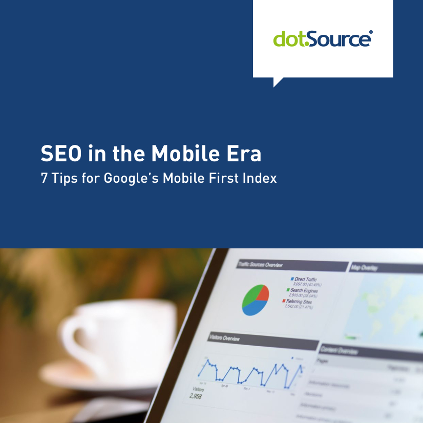 SEO in the Mobile Era White Paper Cover dotSource