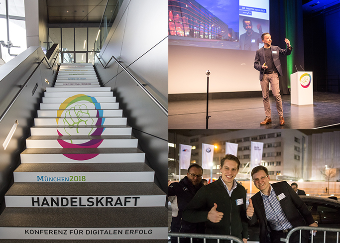 Photos from the Handelskraft Conference 2018, (Source: dotSource)