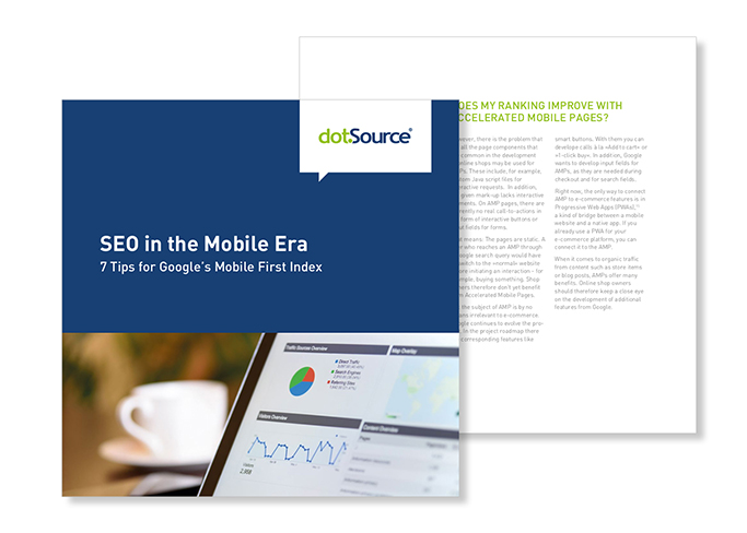SEO in the Mobile Era dotSource White Paper