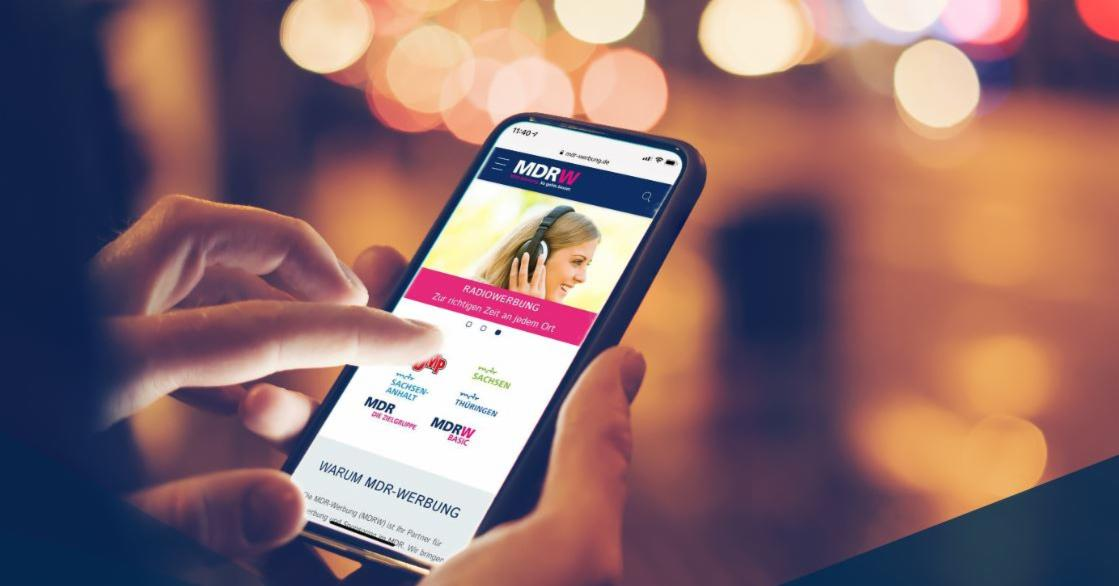 MDR-Werbung case study: Modern web design for the best usability