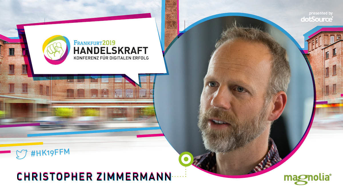 »The real role of the CMS is to integrate well with AI systems and services, rather than to provide them itself.« Interview with Handelskraft speaker, Christopher Zimmermann