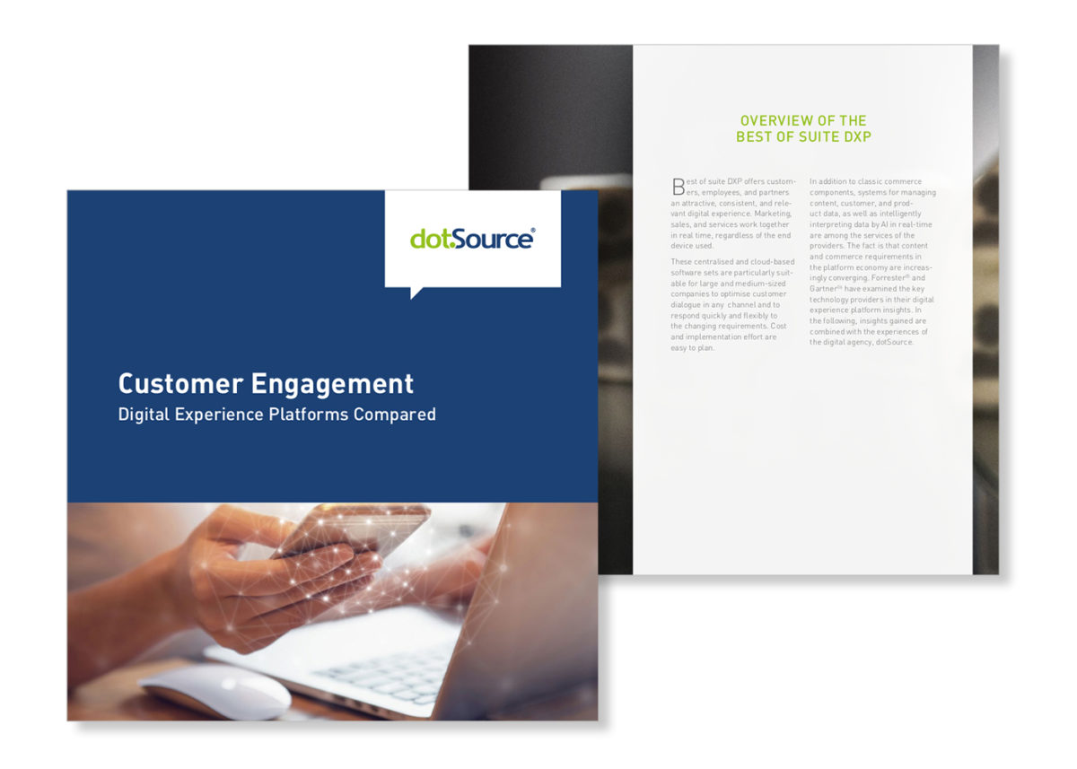 New white paper: »Customer Engagement: Digital Experience Platforms Compared«