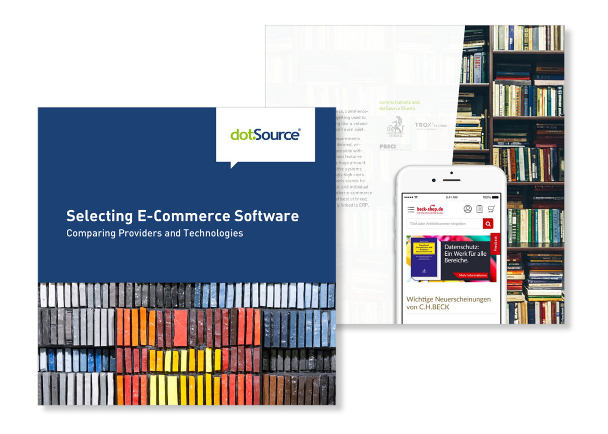 Selecting E-Commerce Software – Comparing Providers and Technologies [Updated White Paper]
