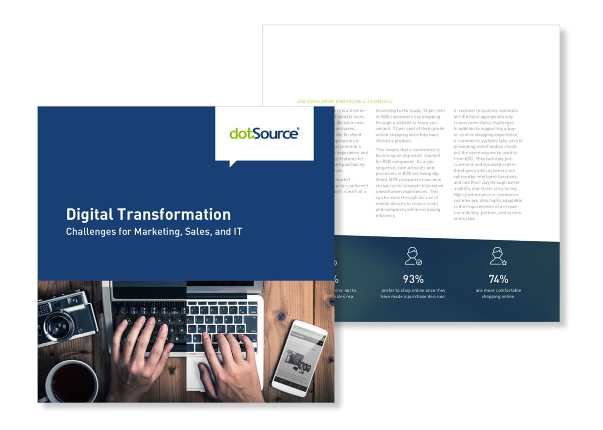 Digital Transformation: Challenges for Marketing, Sales, and IT [Updated White Paper]