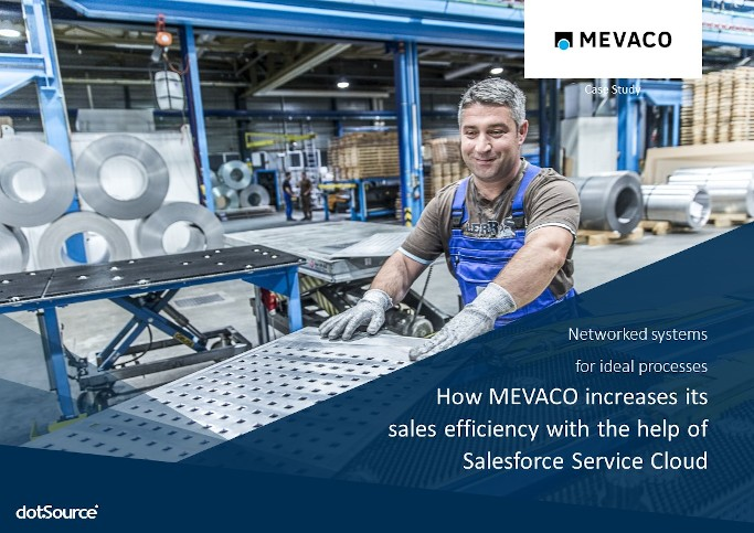 Onlineshop only B2B Mevaco Case Study